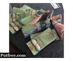 Buy Canadian dollars online