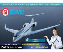 Save Your Loved One by Medivic Air Ambulance in Chennai at Low Fare
