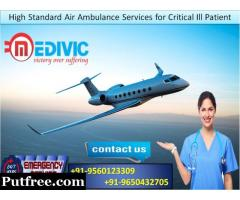 Take Risk Preventive Services by Medivic Air Ambulance in Guwahati