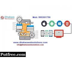Mobile App Development Company in Noida - Dhakwa Web Solutions