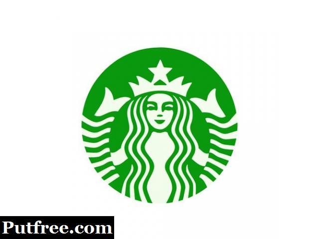 Clear Vinyl Stickers | Starbucks Logo Custom Stickers | Customsticker.com ™
