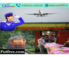 Emergency Commercial Air Ambulance Service in Chennai by Medilift