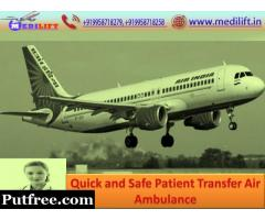 Reliable ICU Emergency Air Ambulance Service in Kolkata