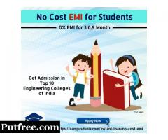 No Cost EMI Instant Approval Education Loan