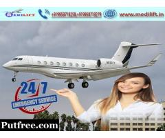 Pick Fast Patient Transfer Air Ambulance Service in Lucknow