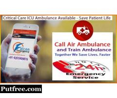 Get Instant and Reliable Bangalore Train Ambulance - Falcon Emergency