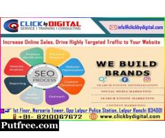 Ultra-Modern Digital Marketing Service in Ranchi through ClickByDigital