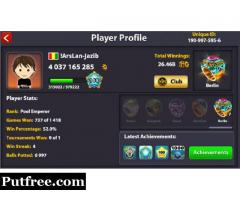 8 ball pool coins in cheapest rates 1000% Trusted