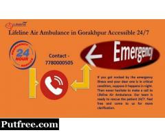 Lifeline Air Ambulance in Gorakhpur- Affordable to Reach Hospital
