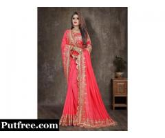 Latest Designer of Party Sarees Online From Mirraw