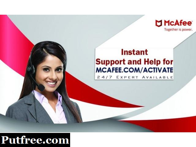 Downloading McAfee activate Setup