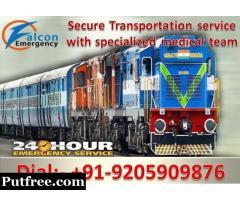 Falcon Emergency Train Ambulance Services in Delhi - Get Best Medical Team