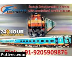 Falcon Emergency Train Ambulance Services in Bangalore - Get Best ICU Facility