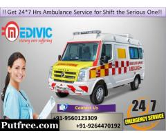 Select Fast-Rated Exigency Ambulance Service in Delhi by Medivic
