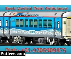 Falcon Emergency Train Ambulance in Delhi - The Best and Secure ICU Facility
