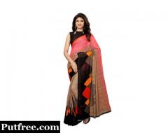 Check out the Latest Designs of Sarees below 500 online at Mirraw