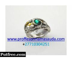 KING SOLOMON'S MAGIC RING OF WONDERS, LUCK, INSTANT RICHES, PROTECTION SPELL +27710304251