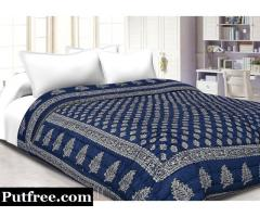 Buy Online Quilts Bed Sheets in Jaipur