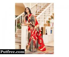Check out Mirraw's Classy Kota Sarees collection in vibrant colors