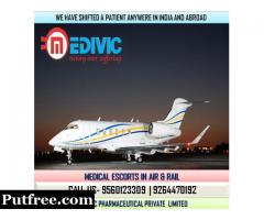 Gain Excellent Medical Care by Medivic Air Ambulance in Bangalore