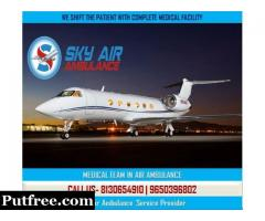 Take the Perfect Cure in Sky Air Ambulance from Dehradun