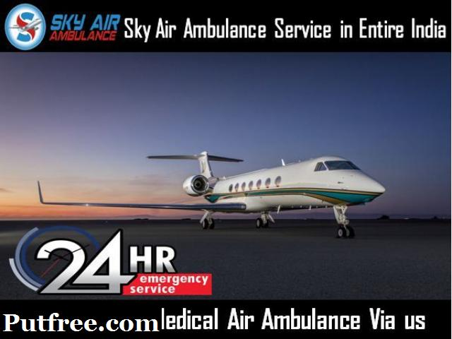 Receive Modern Air Ambulance in Raipur by Sky Air Ambulance