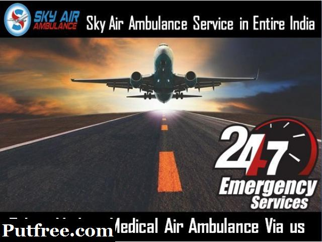 Unique Medical Equipment in Sky Air Ambulance from Bhopal
