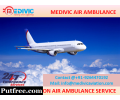 Take Superiority Medivic Aviation Air Ambulance Service in Lucknow
