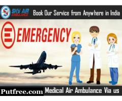 Sky Air Ambulance from Chennai with Top-Level Medical Treatment