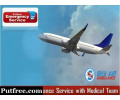 Receive the Proper Medical Aid in Sky Air Ambulance from Bhubaneswar