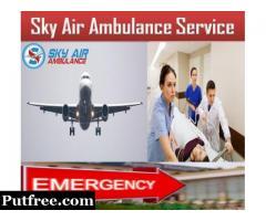 Get Full Medical Solution in Air Ambulance from Varanasi by Sky Air Ambulance