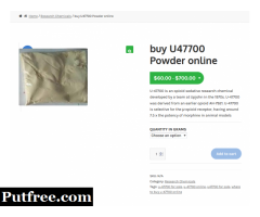 buy U47700 Powder online