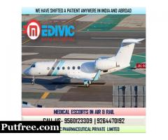 Avail Finest Lifeguard Charter Air Ambulance Service in Allahabad by Medivic