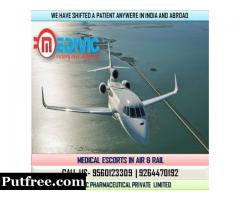 Book Super Specialist Air Ambulance Service in Bagdogra by Medivic