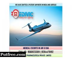 Select Magnificent Emergency Air Ambulance Service in Indore by Medivic