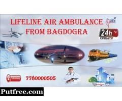 Lifeline Air Ambulance in Bagdogra- Prodigious Carrier of Patient with Complete ICU Care