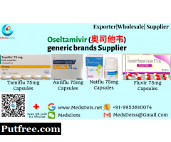 Oseltamivir Brands in India | Buy Tamiflu 75mg Capsules Online | Oseltamivir generic brands Supplier