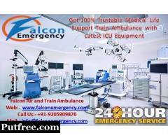 Falcon Emergency Train Ambulance Service in Kolkata – Get All Health Related Solution