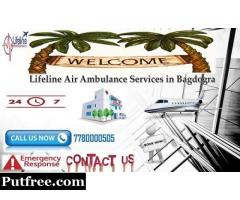 Make Shifting Possible Comfortable by Lifeline Air Ambulance in Bagdogra