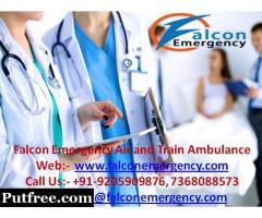 Upgraded and Modern Equipped - Falcon Emergency Train Ambulance Hyderabad