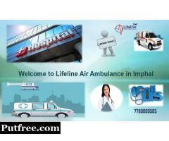 Lifeline Air Ambulance from Imphal Very Effective to Rent in Emergency