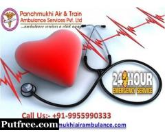 Get Panchmukhi Train Ambulance Service in Kolkata with Lowest Cost Booking