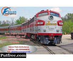 Get Falcon Emergency Train Ambulance from Bangalore offers to Save Lives Your Love Ones