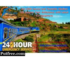 Falcon Emergency Train Ambulance in Guwahati – Get Best and Reliable Medical Transport