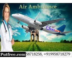 Hire Air Ambulance Services in Delhi with Medical Team