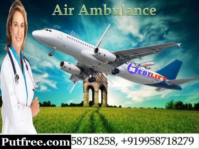 Affordable Air Ambulance Services in Patna with Hi-tech Facility