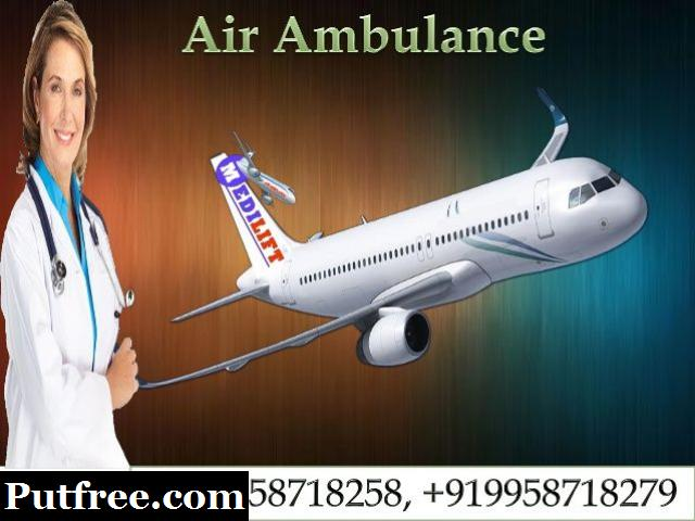 Reliable Air Ambulance Services in Ranchi by Medilift Ambulance