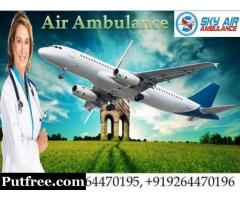 Air Ambulance Services in Guwahati by SKY Ambulance with MD Doctor