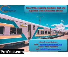 Get Falcon Emergency Train Ambulance from Delhi with Expert Team at Genuine Cost