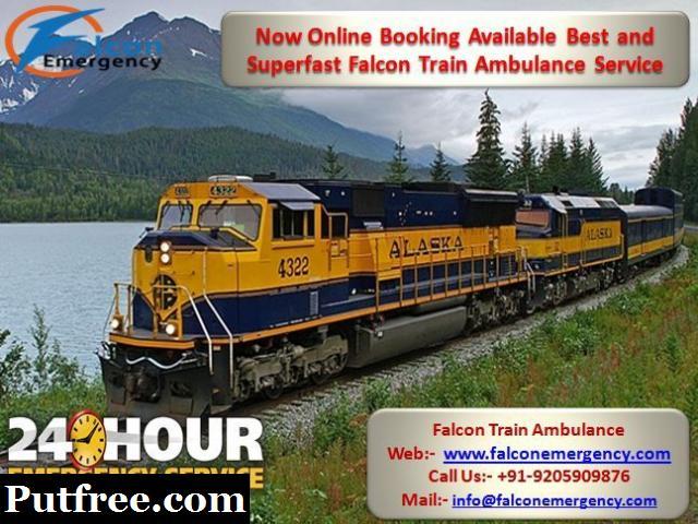 Get Low Fare Best Ambulance Services - Falcon Train Ambulance from Bangalore